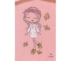 Stickserie - Herbst Girl 2