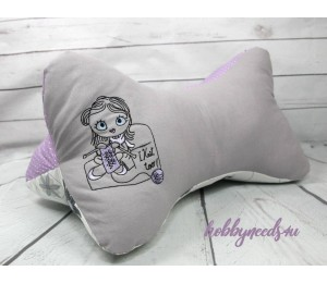 Stickserie - Knitting Girl 6