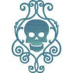 Stickdatei - Decorative Skull 1