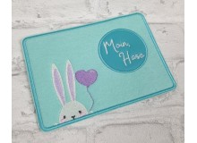 "Stickdatei ITH - Mug Rug ""Moin Hase"""