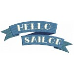 Stickdatei Hello Sailor