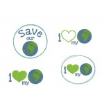 Stickserie - Love My Planet