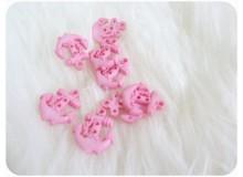 Knöpfe Anker rosa
