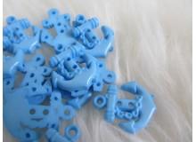 Knöpfe Anker hellblau