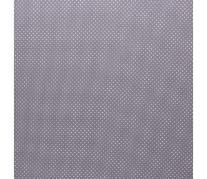 Baumwolle - Pünktchen 2mm grau