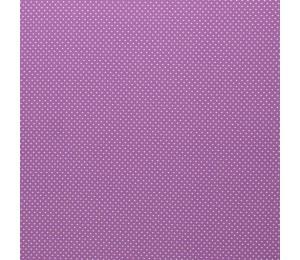 Baumwolle - Pünktchen 2mm lila