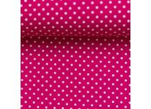 Baumwolle - Pünktchen 2mm pink