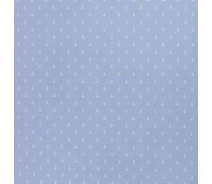Baumwolle - Anker blass blau