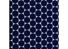 Baumwolle Swafing - Doro Dots dunkelblau marine