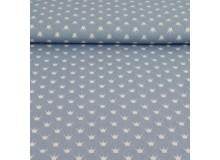 Baumwolle Kronen jeansblau