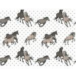Baumwolle - Pferde