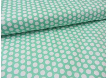 Baumwolle Fresh Dots - mint