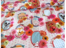 Canvas Cherry Picking Fabric Fever