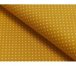 Baumwolle - Pünktchen 2mm senf