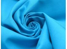 Baumwolle - Uni blau türkis