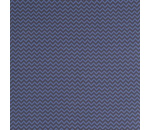 Jaquard Bündchen - Karla grau blau Zacken