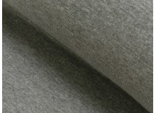 Bündchen grau dunkelgrau meliert