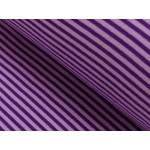 Ringelbündchen flieder violett Bündchen gestreift