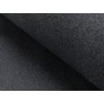 Bündchen - Rippe dunkelgrau meliert melange
