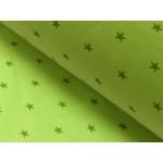 Bündchen kleine Sterne lime