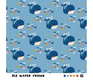Bio Jersey Lillestoff - Big water friends