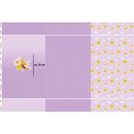Jersey Biene Maja Panel 2 flieder