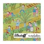 Bio Jersey Lillestoff - Alle zusammen Susalabim
