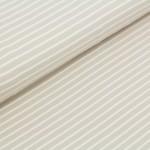 Biojersey Streifen - sand