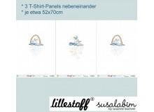 VORBESTELLUNG Bio Jersey Lillestoff - Einhorn Elfen Panel