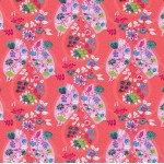 Jersey Flora Blütenranke koralle von Swafing