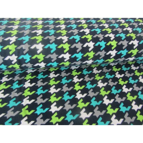 sweat grafix grafische muster lime blau - Grafische Muster