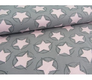 REST 38cm Jersey - Stars in the middle rosa