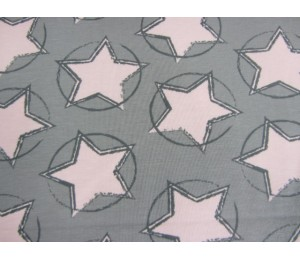 Jersey - Stars in the middle rosa