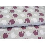 Jersey - Elephant Parade dunkelrosa