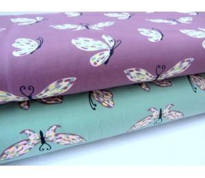Jersey - Schmetterlinge Wingspan dunkelmint