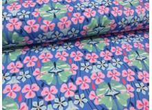 REST Jersey Schmetterlinge blau von Swafing