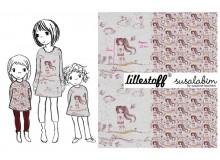 Bio Jersey Lillestoff - Manga Girl von Susalabim