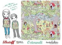 Bio Jersey Lillestoff - Osterwelt Susalabim
