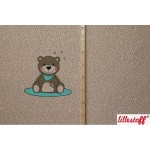 Lillestoff Teddy Panel braun beige