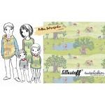 Bio Jersey Lillestoff - Bellas Jahreszeiten L'Estate