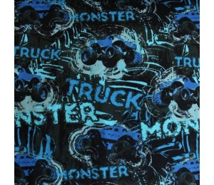 Biojersey Monstertruck blau
