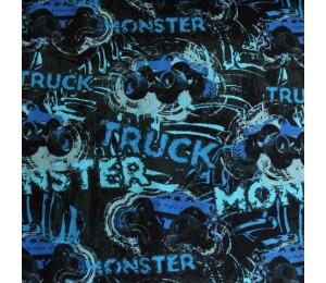 Biojersey Monstertruck blau Stoffonkel