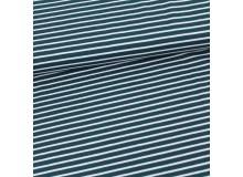 Bio Jersey - Streifen water by night