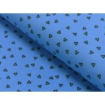 Jersey - Circus play Triangles blau