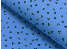 Jersey - Circus play Triangles blau