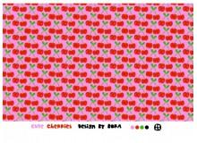Bio Jersey Lillestoff - Cute Cherries