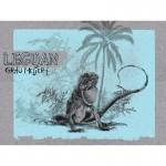Bio Jersey Lillestoff - Leguan Panel