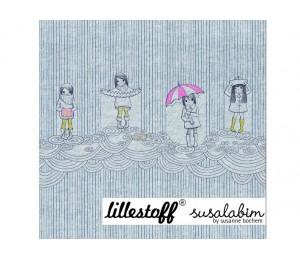 Jersey Regenmädchen - Lillestoff Susalabim