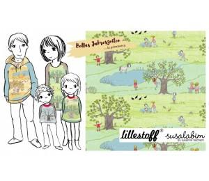 Bio Jersey Lillestoff - Bellas Jahreszeiten La Primavera Susalabim