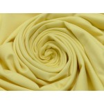 Jersey Uni - pastell gelb